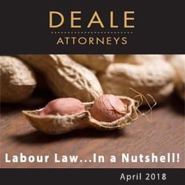 Labour law in a nutshell April 2018